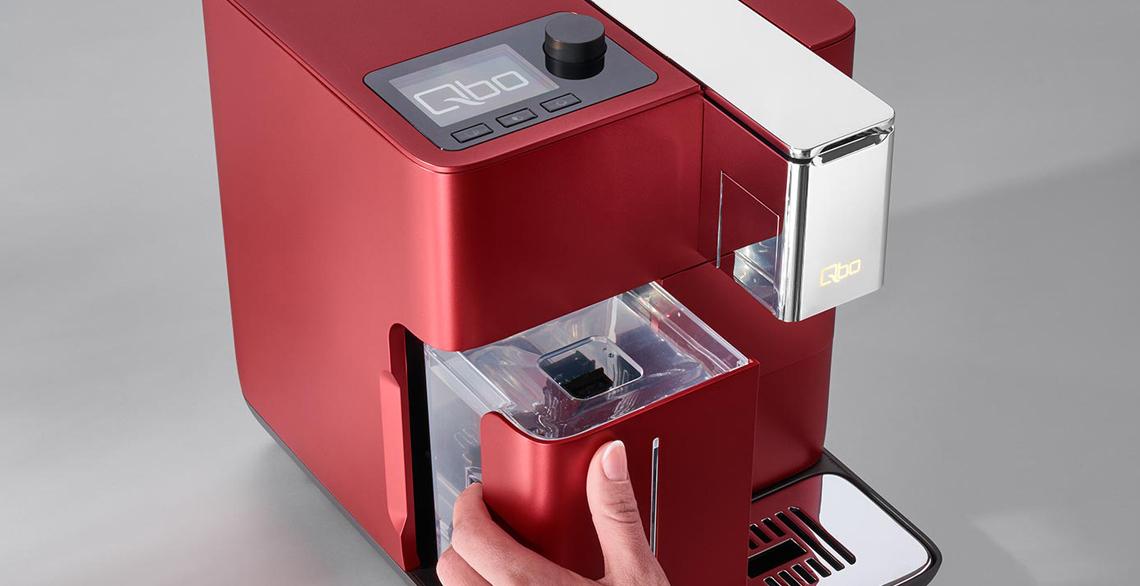 Mini Kühlschrank Für Kaffeemaschine : Qbo die smarte kaffeemaschine e wie einfach